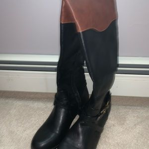 Rampage boots two toned. Worn once